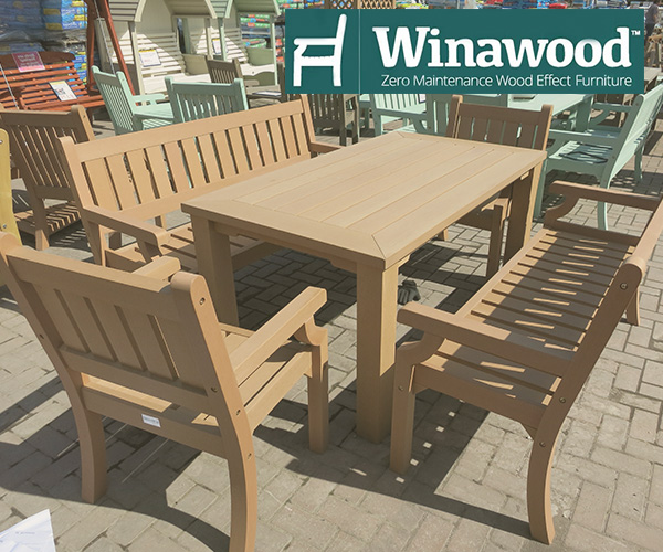 Winawood furniture all weather composite garden furniture for All weather garden furniture
